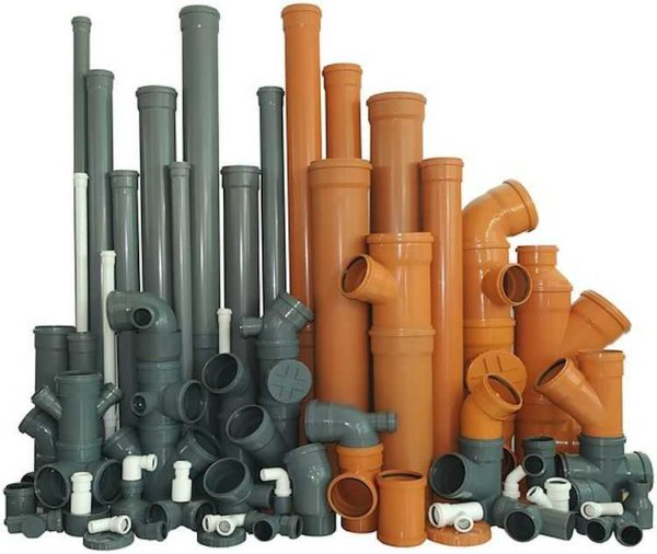Канализация из пластиковых труб