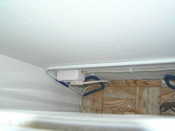 Пример подключения посудомоечной машины к электросети