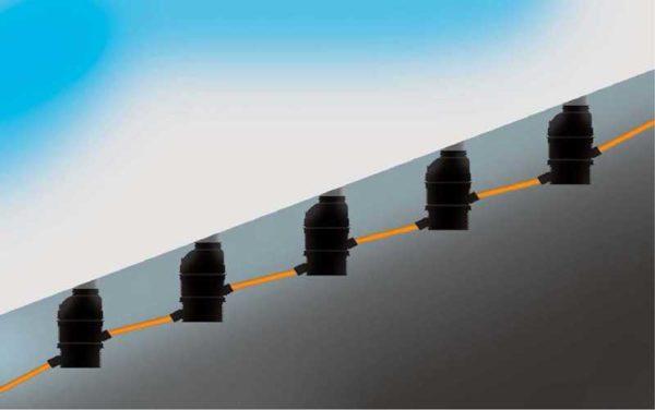 Способ организации канализации на участках с большим уклоном - перепадные колодцы