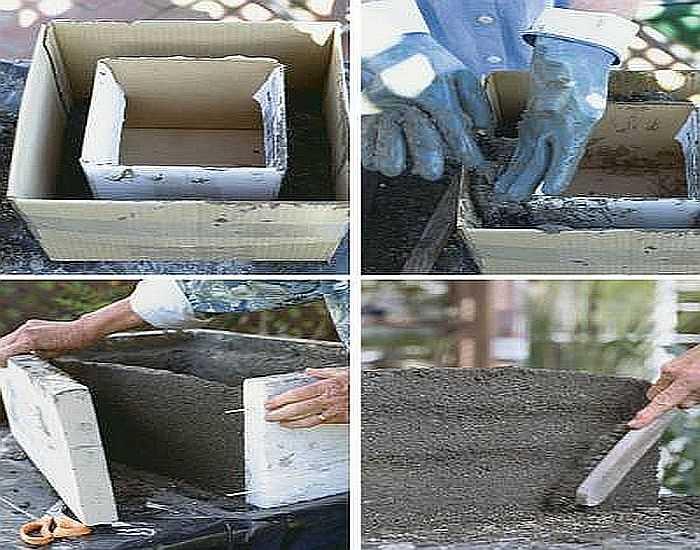Формы для вазонов из бетона 94