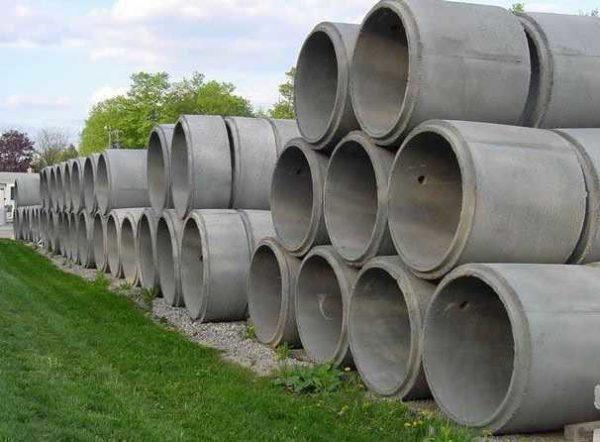 Бетонные кольца используются для строительства разных сооружений