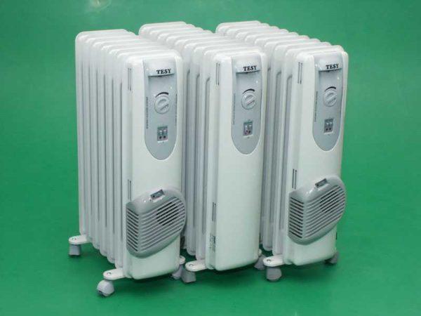 Традиционный вид масляных радиаторов