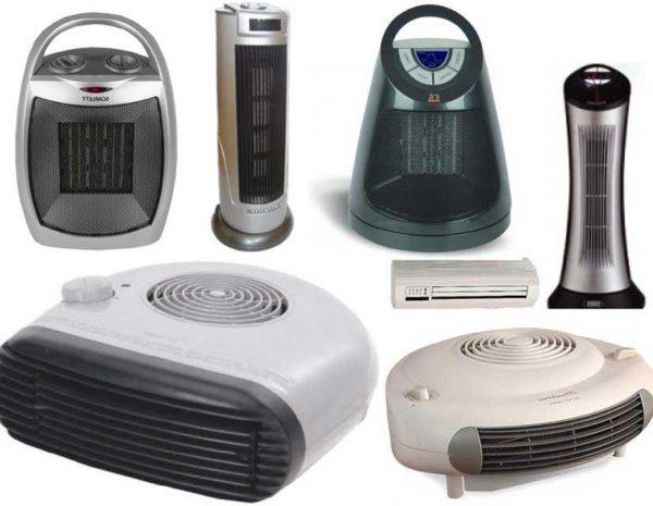 Тепловентиляторы - разные модели, назначение, мощности