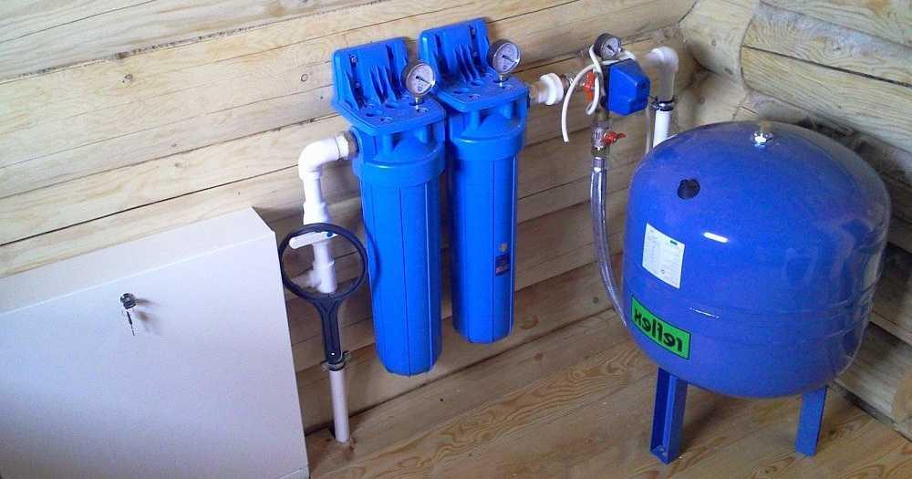 Схема подключения гидробаки для систем водоснабжения