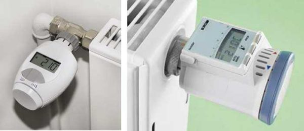 Установка терморегулятора на радиатор