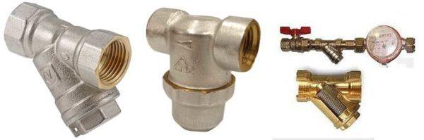 Механические фильтры без обратной промывки