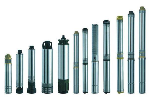 Насос для скважины представляет собой вытянутый в длину цилиндр