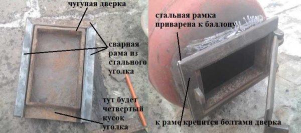 Как установить печное литье на металлическую печку