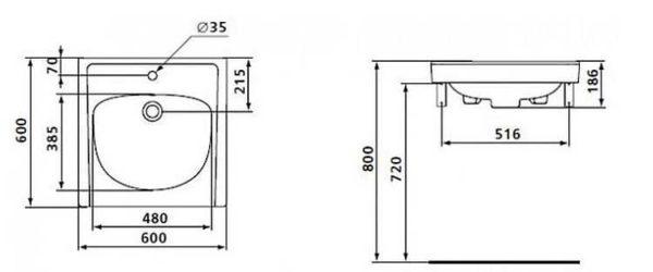hauteur d un lavabo affordable wijpg ramon soler with hauteur d un lavabo nice hauteur d un. Black Bedroom Furniture Sets. Home Design Ideas