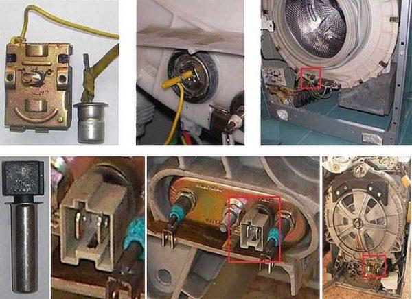 Термореле отвечает за своевременное включение/отключение нагревателя
