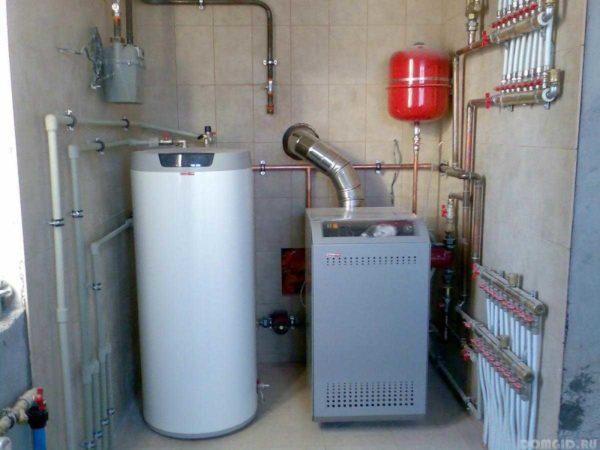 Для мощных газовых котлов требуется отдельное помещение