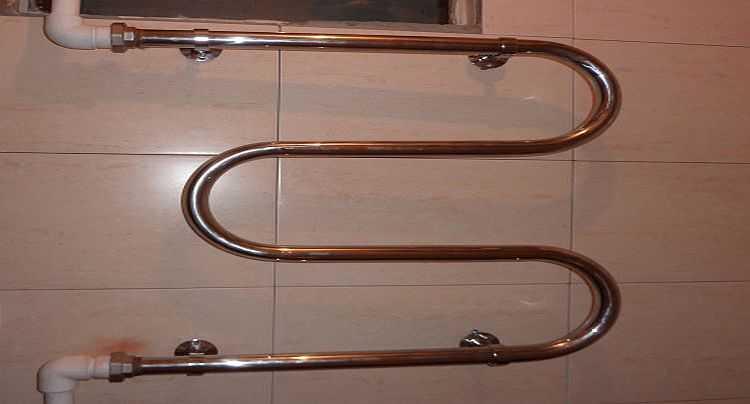 Как сделать байпас на полотенцесушитель 888