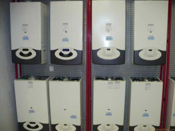 Настенные газовые котлы - небольшой шкафчик, который модно установить на кухне