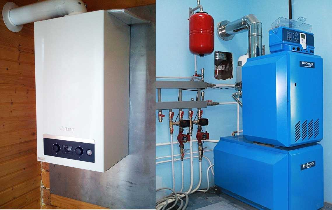 Газовый котел для отопления частного дома своими руками 23