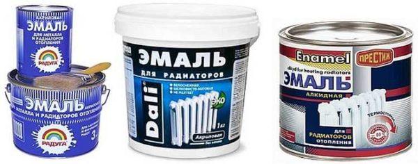 Краски для радиаторов отопления делают на разной основе