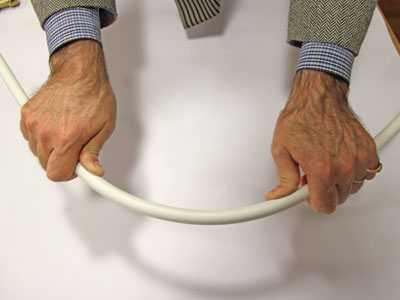Ручная гибка металлопластиковых труб