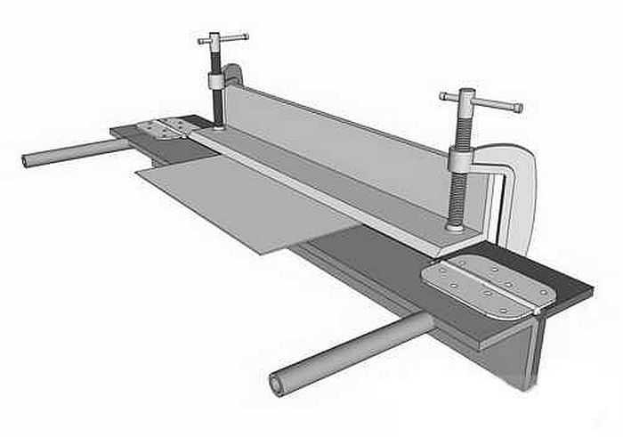 Как сделать станок для гибки трубы своими руками чертежи