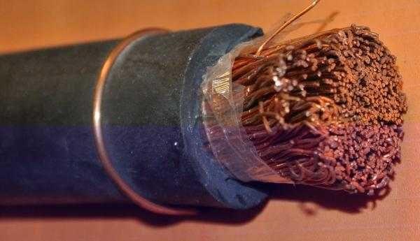 Так выглядит кабель КГн