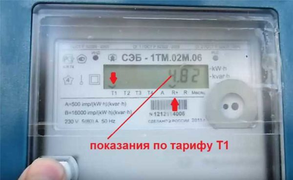 Как снять показания с электросчетчика Микрон