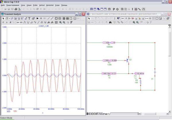 Программа для черчения схем электроснабжения и не только - больше для симуляции их работы