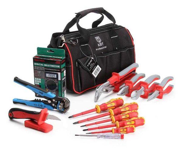 В сумке с электроинструментами должны быть измерительные приоборы