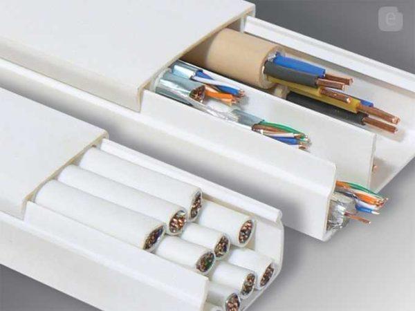 При выборе размера необходимо учитывать количество кабелей, которые надо будет улоюить