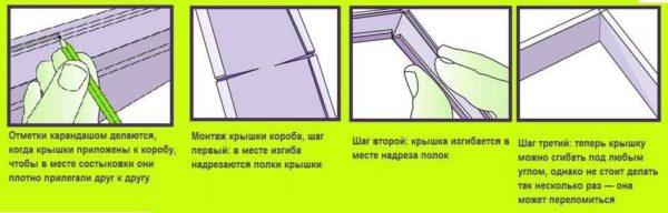 Правила монтажа пластиковых кабельных лотков