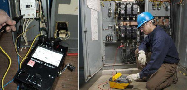 Как пользоваться мегаомметром: правила электробезопасности