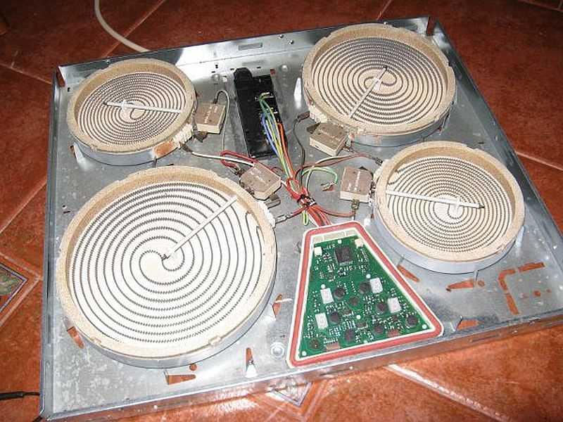 Ремонт электрическая плита зви 417