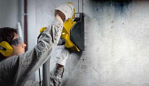 Перфоратор для штробления бетона