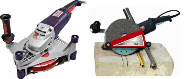 Штроборез - дорогое, но эффективное устройство которое облегчает и ускоряет штробление стен под проводку