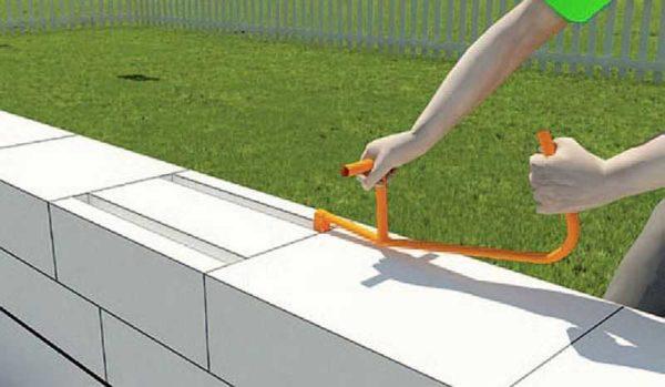 Штроборез для газоблоков