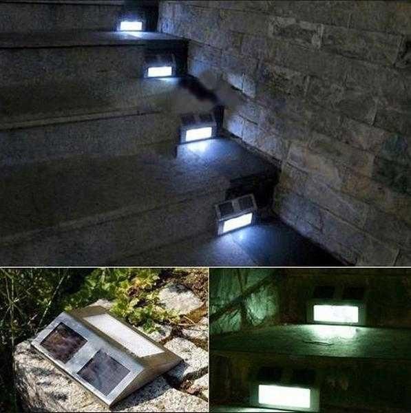 Подсветка лестниц - удобно, экономно и красиво