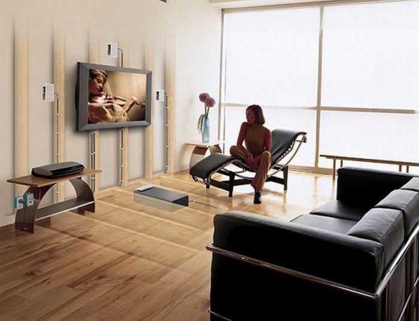 Установить телевизор на стену - хорошая идея и с точки зрения дизайна и с точки зрения безопасности