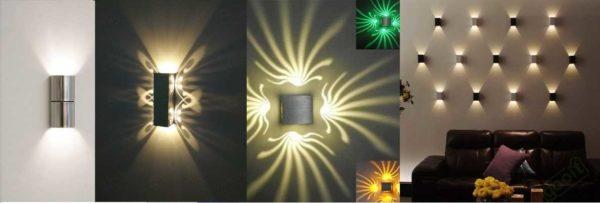 Примеры использования направленных светодиодных ламп