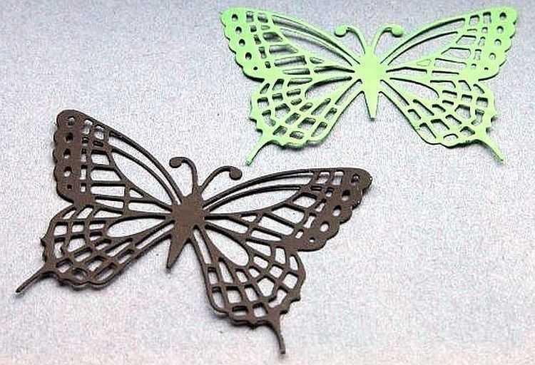 Как сделать бабочку своими руками из картона