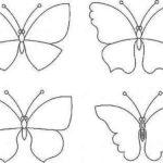 Декоративные бабочки можно нарисовать самому, можно найти изображение в любой книжке