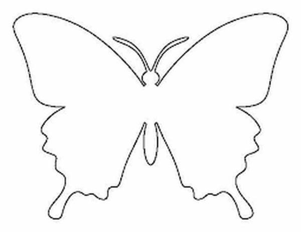Шаблоны бабочками как сделать