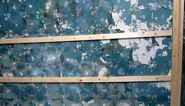 Крепление пластиковых панелей на стену