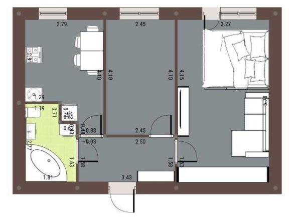 Разрабатываете план квартиры