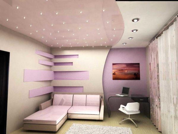 Точечные светильники - это название отражает внешний вид этого осветительного прибора и размеры освещаемого пространства
