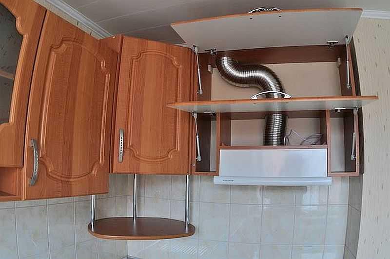 Как установить вытяжку на кухне своими руками фото 34