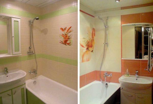 Добавить цвета чтобы ванная не выглядела как операционная