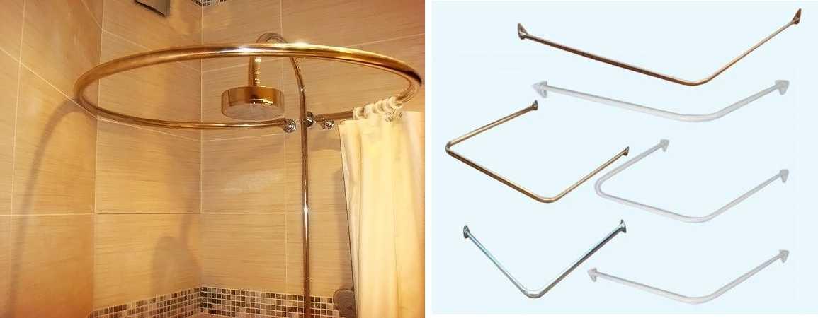 Как сделан ванный карниз 447