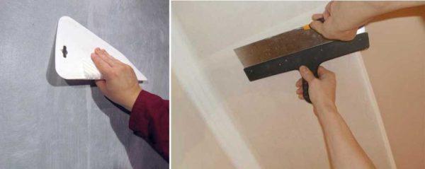 Основное - сделать незаметным стык двух полотен