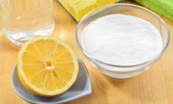 Лимонная кислота, уксус и сода тоже справляются с загрязнениями