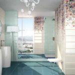 Фотопечать на керамической плитке - достоверная передача изображений делают интерьер ванной необычным