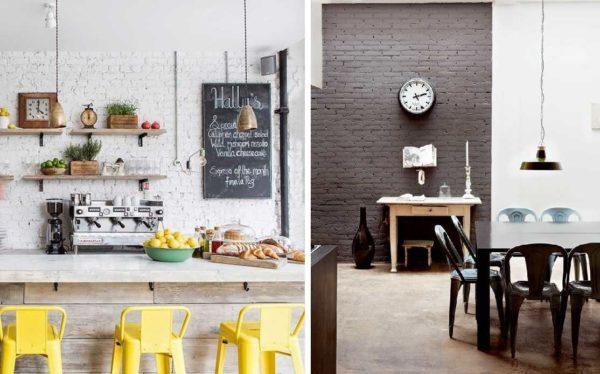 Покраска стен на кухне из кирпича тоже требует предварительной грунтовки