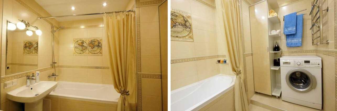 Ремонт ванной комнаты в хрущевке малых размеров