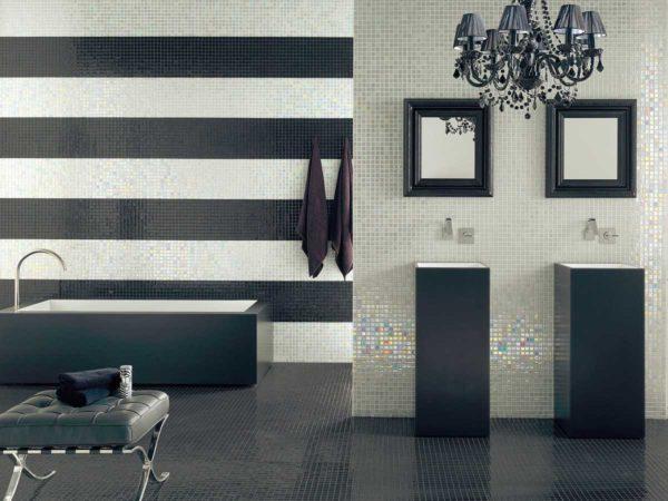 Выбрать способ раскладки плитки в ванной непросто